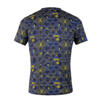 Camiseta Dry Fit que absorbe la humedad Star Yellow