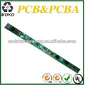 el diseño personalizado llevó pcb llevado verde blanco del PWB llevado led