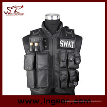 Polícia de Swat airsoft militar tática combate segurança de colete colete colete à prova de balas