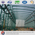 Latice Section Column Prefabricated Steel Structure Workshop