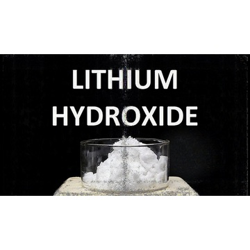 point de fusion de l'hydroxyde de lithium