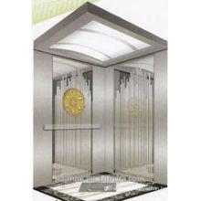 630kg Titanium cabin passenger elevator lift