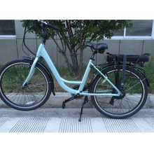 700c 30-35km/h rear 250w geared motor electric city bike road e bike  with LED display