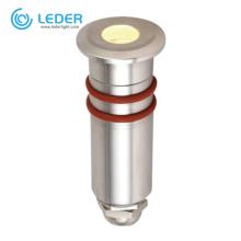 Foco empotrable LED RGB 0.5W de baja potencia LEDER
