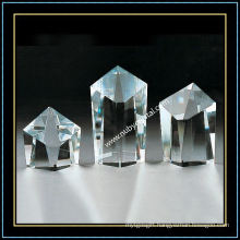 Decorative K9 Blank Crystal Block Slant Top