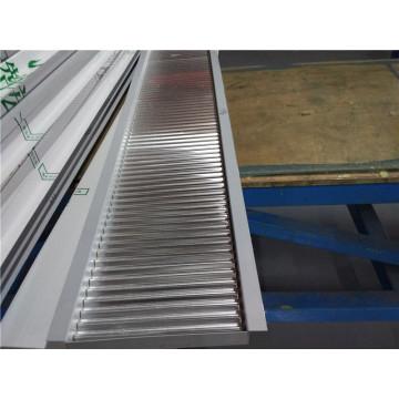 1100/3003 Hoja de aluminio de un lado y panel ondulado