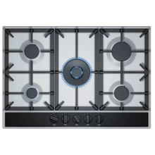 Built-in Neff Stove Stainless Steel 5 Rings