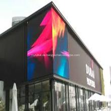 P6 Screen Outdoor LED Vitrine Zum Verkauf