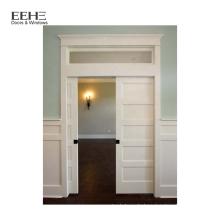 Günstige PVC-Holztür für Badezimmer