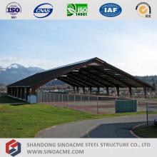 Steel Portal Frame Sports Center Shed