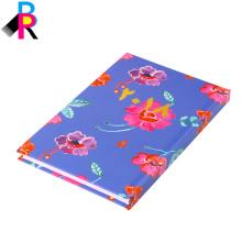 A5 Notebook diario de tapa dura al por mayor personalizado