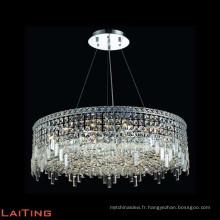 Lustres modernes en cristal de chanvre de corde a mené la lumière décorative pendante 71064
