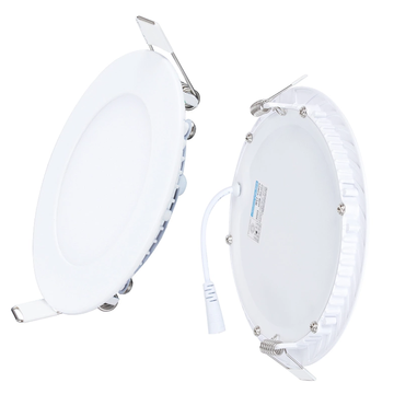 Downlight LED empotrable para techo inclinado
