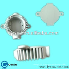 La aleación de aluminio de Shenzhen llevó la lámpara del tubo accesorio de partes