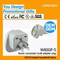Venta al por mayor contacto de enchufe de clavija eléctrica, hecho en China montaje de panel de toma de corriente