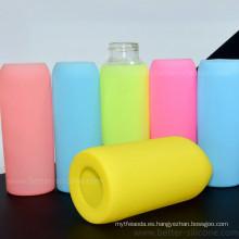 Manga moldeada modificada para requisitos particulares de la botella de consumición del agua del vidrio del silicón