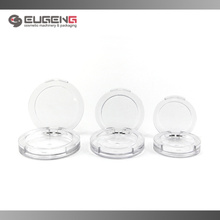 round shape clear eyeshadow packaging