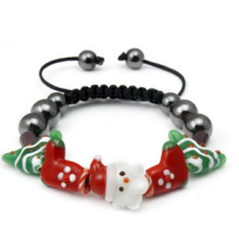 Bijoux de Noël / Bracelet de Noël / Père Noël (XBL13141)