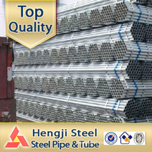Galvanized steel pipes Hot dipped