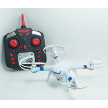 New Arrival helicopter style 4 channel rc drone quadcopter with LED