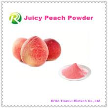 Alta Qualtiy 100% Natural Juicy Peach Pó Min Ordem 1 kg