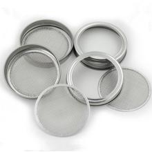 82/86 MM 304 Edelstahl Filter Sieb Deckel für Mason oder Einmachglas