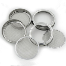 82 86 MM Pure Stainless Steel Sprouting Cricle screen Sprouting Lids With Department Disc