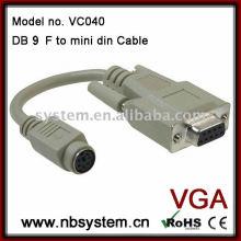 Db9 zu mini din kabel