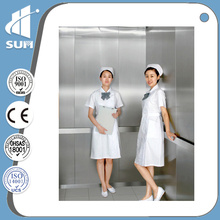 Speed 1.75m/S Hairline Stainless Steel Bed Elevator