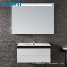 Seawin Bathroom Rectangle Wall Light Basin Defrogger Led Salon Backlit Mirror