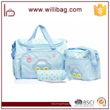 2016 New arrival baby diaper bag, canvas baby diaper bag, mummy bag