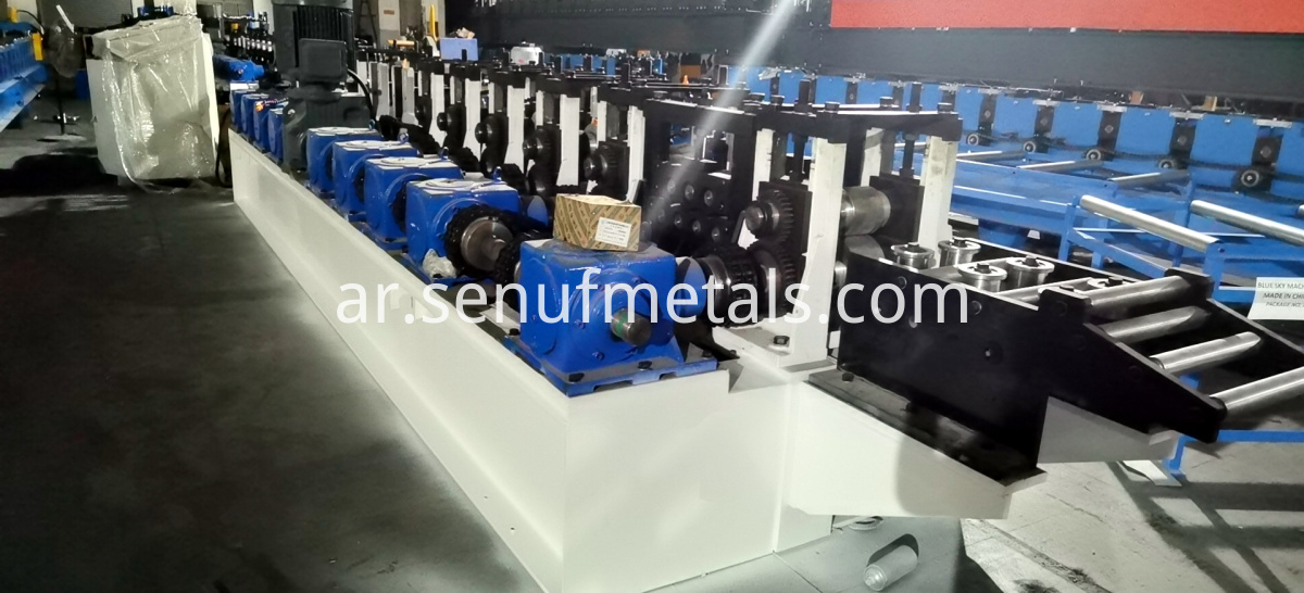 L bar iron steel forming line (3)