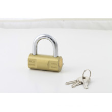 Top Quality Solid Steel Body Hammer Style Iron Padlock Brass Painted