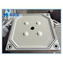 Placa de filtro de membrana PP de alta temperatura e pressão