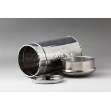 250ml Straight stainless tin Canister , caddy