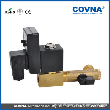 Various voltage and functional electrical drain valve