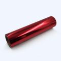 Wholesale Rose Red Weed Vinil Warm PU Metallic Heat Transfer Vinyl for Shirt Clothing Hats