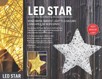 Paper Thread Star 15LED