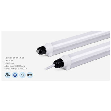 Lumière de tube LED en aluminium dimmable T8 4000K 2ft