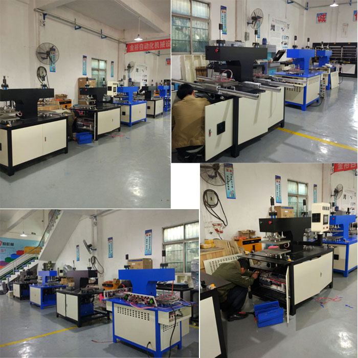 Embossing machine factory