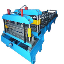 Automatic roof tile making machine price, double layer roll forming machine