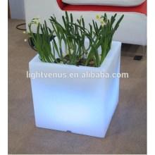 Light Up led flower pot, LED flower planter