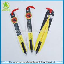 Artículos de regalo de encargo reciclan bolígrafo marcador promocional