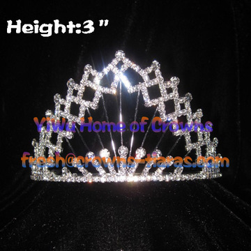 All Clear Crystal Pageant Kronen und Tiaras