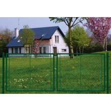 Porte de jardin pour clôture grillagée