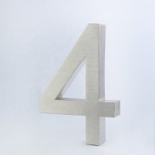 Stainless Steel 3D Outdoor Villa House Number