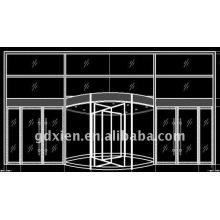 Гостиничная автоматическая дверь CN_R303