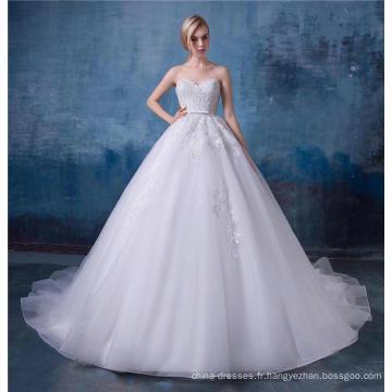 Magnifique robe de mariée brodée chérie 2017