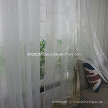 Polyester Jacquard Voile Vorhang