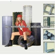 2014 горячая продажа ПВХ покрытием и оцинкованной сеткой / сварные сетки строительной сетки